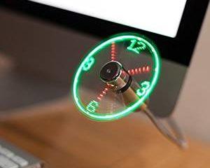 usb ventilator, usb uhr, schreibtisch gadget